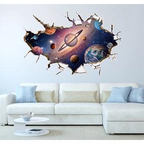 Papel De Parede Universo Galáxia 3d