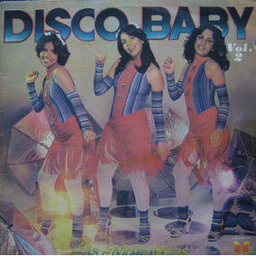 Lote As Melindrosas Lp Vinil Disco Baby 2 E 3 Gretchen Sula