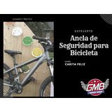 Ancla De Seguridad Para Bicicleta