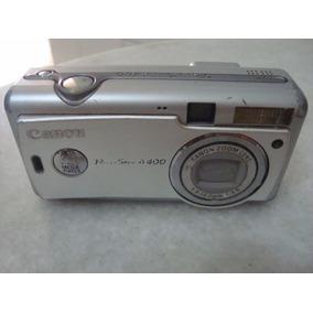 Câmera Digital Canon Powershot A400 (p/ Retirada De Peças)