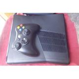 Xbox 360 Slim Destravado Com Rgh E Ltu + Hd120gb