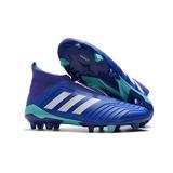 Botines Adidas Con Tapones para Adulto Color Azul en La Plata en ... 21f27129ff39c
