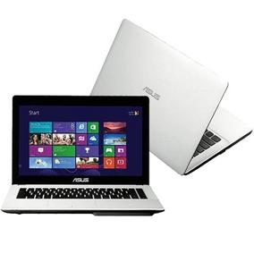 Notebook Asus Branco Intel Quad Core 4gb 500hd - Novo