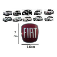 Emblema Grade Diant Fiat Uno,stilo,linea,strada,punto,doblo