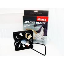 Cooler Fan Ventoinha Akasa Apache Black 12cm 12v Pc Gamer ·