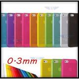 Protector Ultradelgado 3mm Iphone 5 / 5s. Varios Colores!