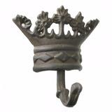 Cabideiro Decorativo De Ferro Modelo Coroa
