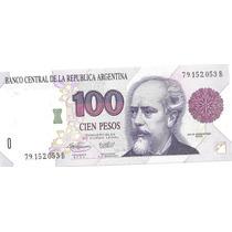 Billete 100 Pesos Convertibles Primer Diseño B Sin Circular-