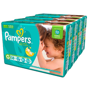 Fralda Pampers Total Confort G 152tiras