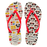 Chinelo Havaianas Minnie E Mickey Disney - Clique+
