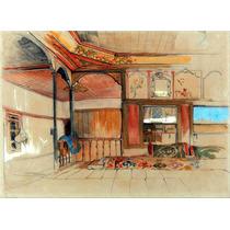 Lienzo Tela Interior Casa Oriental Arte Oriental John Lewis