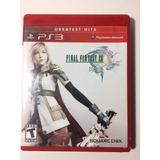 Juego Ps3 - Final Fantasy Xiii