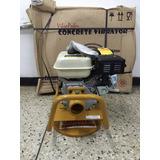 Vibrador Para Concreto Gasolina Con Motor 5,5 Hp