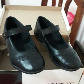 Zapatos Guillerminas Colegiales/escolares Plumita