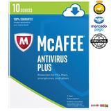 Mcafee 2017 Antivirus Código Oficial 10 Dispositivos 1 Año