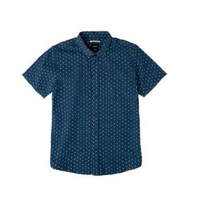 Camisa M/c Rvca Toned S/s Hombre