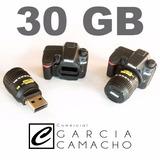 Pen Drive 30gb Câmera Nikon D7000 - Fotografia Memória 32gb