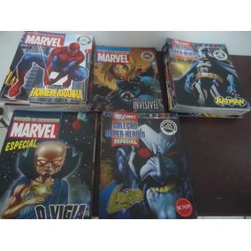 Eaglemoss Revistas Coleção De Miniaturas Marvel E Dc Comics