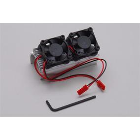 Xtm 149862 Dissipador De Calor Para Motor 1/8 Bru C/ 2 Venti