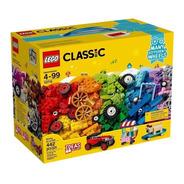 Lego 10715 - Peças Sobre Rodas 442 Peças Lego Classic