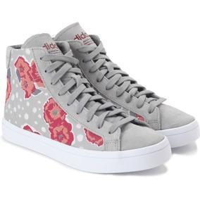 adidas Zapatillas Originals Courtvantage Mid Bota Flores