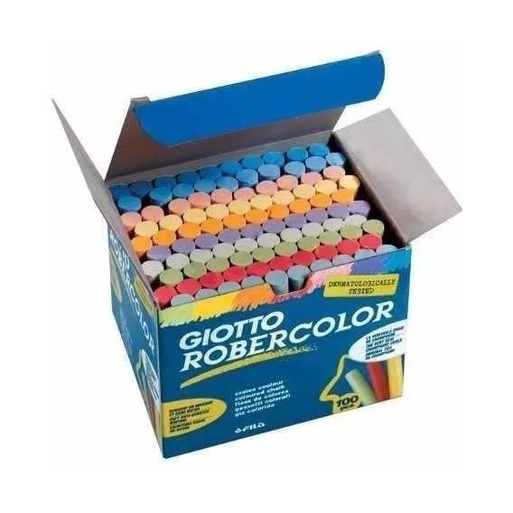 Tizas Giotto Robercolor X100 De Colores ( Anti Alergicas )