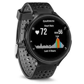 Forerunner 235 - Preto E Prata - Smartwatch Gps De Corrida