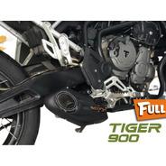 Escapamento Esportivo Full Mexx Tiger 900 Taylor Made