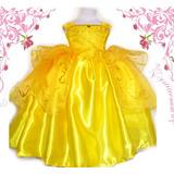 Disfraz Princesa Bella Y La Bestia Aurora Cenicienta Soy Lun
