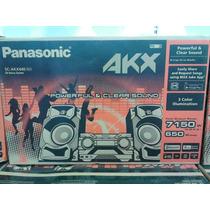 Equipo De Sonido Panasonic Akx 440 Bluetooth Usb 650 W