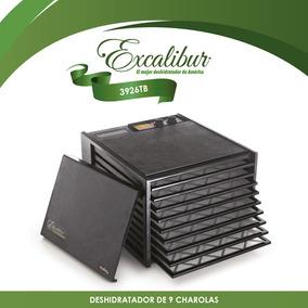 Deshidratador Excalibur 9 Charolas Puerta Negra 3926tb