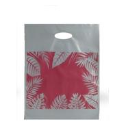 Bolsas Riñon Regalo Motivo Rosa Hojas Plasticas  35x45 100u