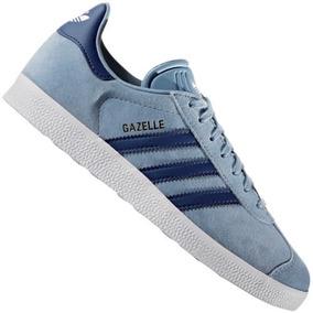 Tenis adidas Gazelle W Azul Dama