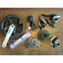 Kit Transmision Shimano 24 Vel Mtb Con Cadena Bicicletas