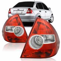 Lanterna Traseira Fiesta Sedan 2005 2007 2008 2009 2010 Par