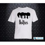 Remeras Sublimada Rockera The Beatles Diseños Exclusivos