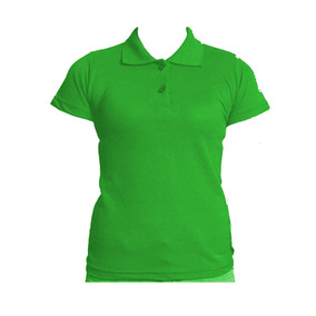 Camisa Polo Feminina Lisa Para Bordar - Calçados a814ba5d51fa9