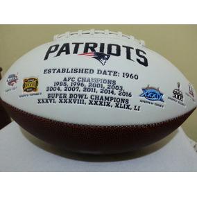 Nfl Balon New England Patriots 5x Superbowl Champions