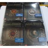 Blu-ray Game Of Thrones - Todas As 6 Temporadas Em Steelbook