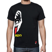 Playera Buga Cavernicola Hell & Heaven Kiss Korn Limp Bizkit