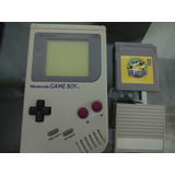 Pack Gameboy Classic Nintendo+ Juego Pokemon + Tapa (fortum)