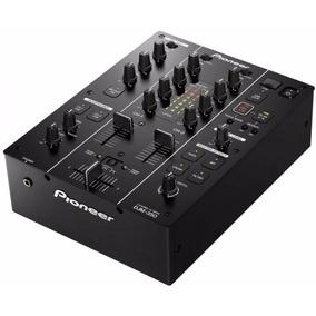 Mixer Pioneer Djm 350 K / Djm350 Preto 2 Canais Original