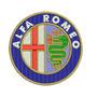 Matriz Bordado Computadorizado Logo Alfa Romeo Emblema