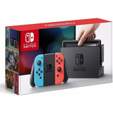 Nintendo Switch Color Neon Azul Y Neon Rojo Nuevo Sellado
