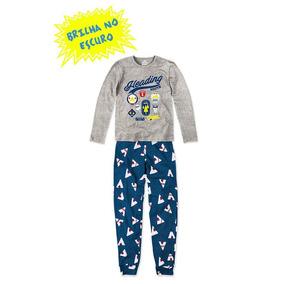 Pijama Infantil Hering Kids Brilha No Escuro 56qam2h00