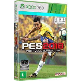 Pes 18 2018 Xbox 360 Pro Evolution Soccer Português Original