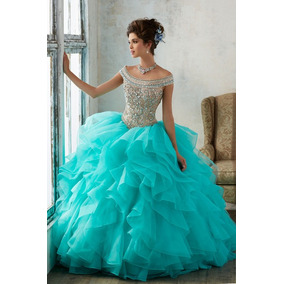 Vestido De Festa Debutante Quinze Anos Princesa Luxo