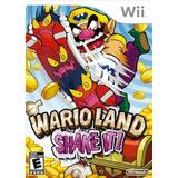 Wario Land: ¡agítalo! - Nintendo Wii