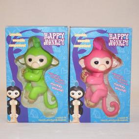 Fingerlings Monkey 2 Figuras (verde Y Rosa)