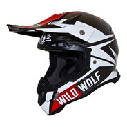 Casco Shiro Thunder Mx-917 Carbono Composite 1100 Grs Mdelta